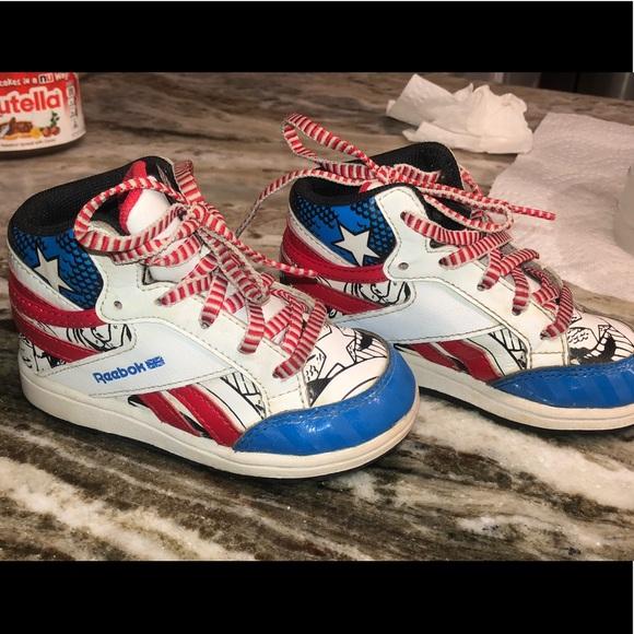 Captain America Reebok Sneakers Child
